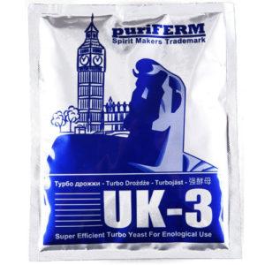 Спиртовые турбо дрожжи PureFerm UK-3